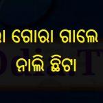 Gora Gora Gale Tora Nali Chhita Lyrics Odia Mp3 Song Download